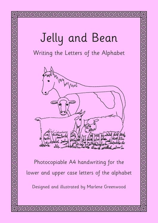 alphabet writing paper